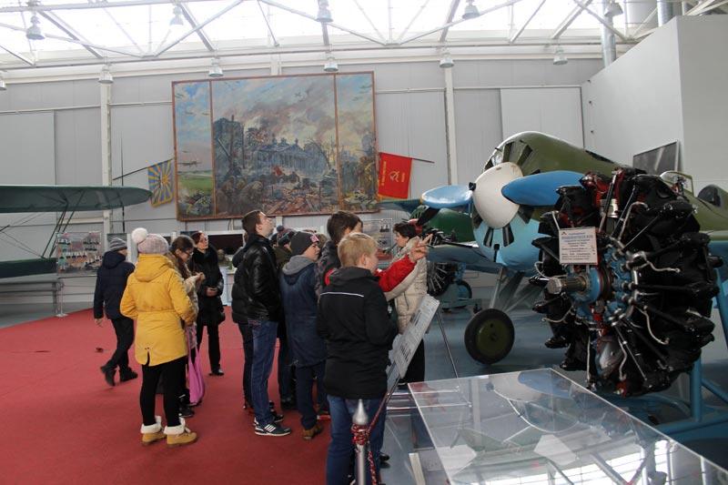 Экскурсия в Центральный музей Военно-воздушных сил в Монино